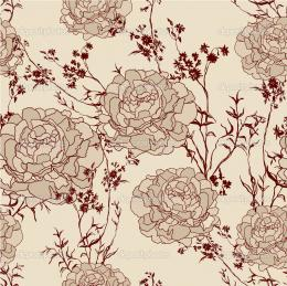 Romantic Flower vintage Background seamless retro floral pattern jpg 1062