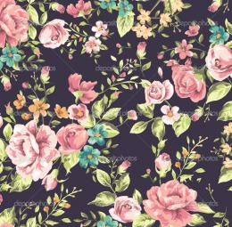 27947249 Classic wallpaper vintage flower pattern background jpg 900