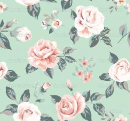 Wallpaper Pattern Vintage Flowers | Amazing Wallpapers 260