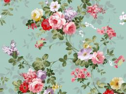 Download Classic Floral Vintage Design Wallpaper 245