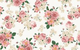 vintage flower background patterns | Q Pattern 1627