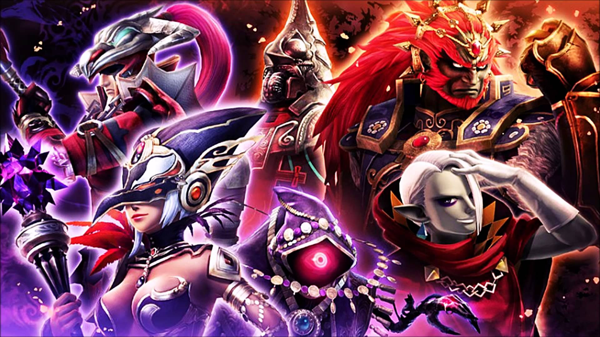13 Hyrule Warriors Ostsilent Guardianstemple Of The Sacred Sword 829 Guardian Of The Temple Painting Wallpaper