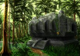 Minecraft Jungle Temple by Algoinde on DeviantArt 138