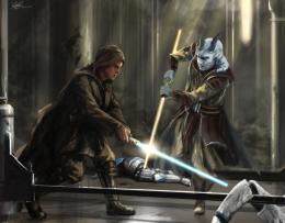 Commission Painting Jedi Temple Assault by Entar0178 on DeviantArt 1510
