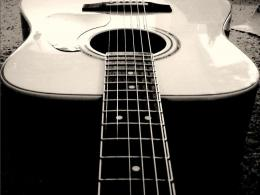 Guitar A 4 String Wallpaper 870