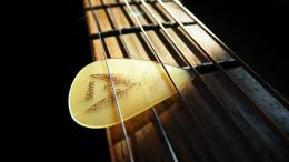 Guitar WallpaperGuitar Strings and Plectrum 1024x576 ♫ Great 1085