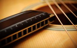 Guitar Strings Acoustic Harmonica Music Hd Wallpaper | Wallpaper List 362