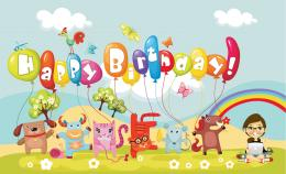 Happy Birtay Children Celebration HD wallpaper 2048x1246 Happy Birtay 1708