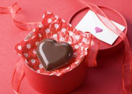 Download Heart, Chocolate, Box, Red, Gift, Ribbon, Letter Wallpaper 1609