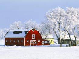 wallpaper Nation Canada HD landscapes barn farm winter wallpaper 501