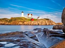 Isl Lighthouse Seascape Free Desktop Backgrounds And Wallpapers 724