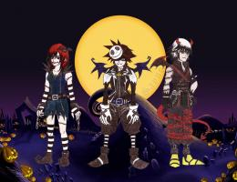 Kingdom hearts Halloween by Sayne7 on DeviantArt 1942