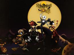 kingdom hearts halloween goofy jack skellington the nightmare Normal 1280