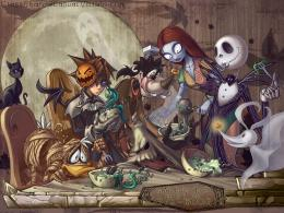 2560x1920 kingdom hearts goofy jack skellington donald duck 1100x786 1018
