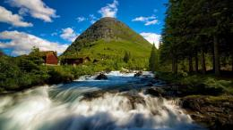 Rapid Mountain Stream In Norway Hd Wallpaper | Wallpaper List 1766