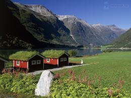 Homes, Oldenvatnet, NorskoLakeside Homes, Oldenvatnet, Norway 1363