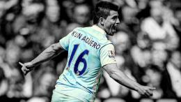 soccer HDR photography Manchester City Kun Aguero wallpaper background 1540