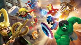 Marvel heroes in Lego wallpaper #40497 580