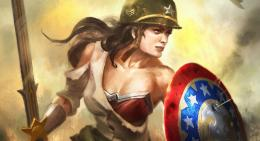 New WWII And Mecha Wonder Woman Costumes For Infinite Crisis 1617