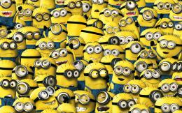 Wallpaper despicable me, minions, despicablem me 2, yellow, animation 1256