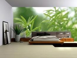 Modern bedroom wallpaper design pictures 605