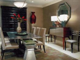 Modern dining room design wallpaper 1 modern dining room designs 1654