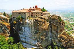 Meteora Monastery 1 by CitizenFresh on DeviantArt 263
