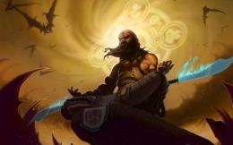 Blade Fantasy Art Artwork Diablo Iii Shaolin Monk Meditate Wallpaper 862