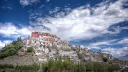 Monastery Thikse Widescreen Wallpaper#9066 1836
