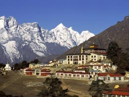 Known places: Tengboche Monastery, Solo Khumbu, Nepal, picture nr 839