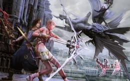 Final Fantasy XIII 2 WallpapersLightning, Serah, Noel, Mog 554