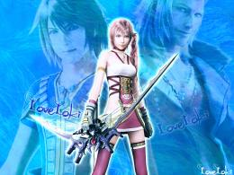 LoveLoki, Noel Kreiss, Serah Farron and Snow Villiers, from 1046