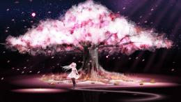 Sakura Cherry Blossoms Tree Nature Anime Trees Jootix Wallpaper with 1707