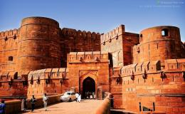 Download Red Fort In Agra India Lahore Gate Wallpaper Free picture 942