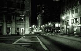 Empty City Street At Night Images & PicturesBecuo 868
