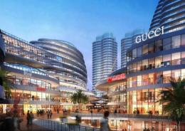 China Town Pedestrian Street Night View | Architectural Renderings 1328
