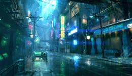 Stark Contrasts: Dreamfall Chapters' Cyberpunk City | Rock, Paper 1973