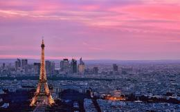 Pink ParisWallpaper, High Definition, High Quality, Widescreen 456