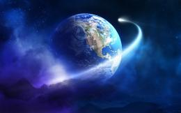 Planet earth in space | HDwallpaperUP 1925