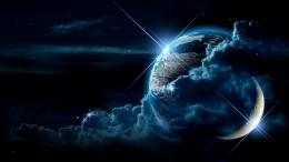 outer space planets moon earth planet sci fi stars wallpaper 1764