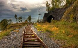 XS Wallpapers HD: Railway Line Wallpapers 344