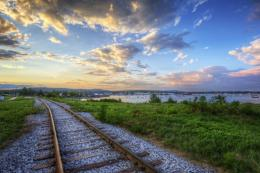 Beautiful Railway Track wallpaper | Best HD Wallpapers 817