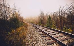 Rail Track Widescreen HD Wallpaper 173