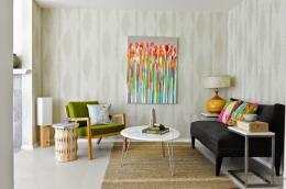 wallpaper for living room in modern style living room wallpaper ideas 943