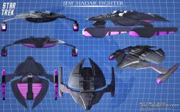Ship Jem Hadar Fighterfree Star Trek computer desktop wallpaper 1971