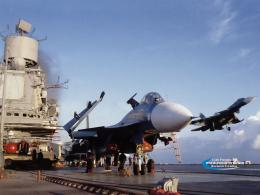 Wallpapers :: Su 33 Ship Fighter 1715
