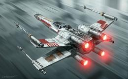 Abrams Unveils the X Wing for \'Star Wars Episode VII 206