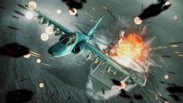 airplane aircraft fighter plane military battle explosion fire ship 1506