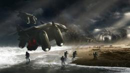 fighting war art artwork warrior futuristic spaceship space wallpaper 256