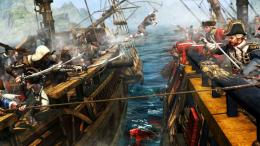 IV 4 Black Flag Pirate Fighting Battle Video Game HD Wallpaper p05 1587